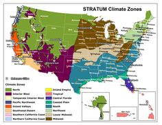 Climate Zone Maps Google Search Maps Pinterest - Climate map us