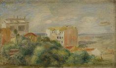 Pierre Auguste RENOIR - Vue de Montmartre - Osenat - 10/04/2011
