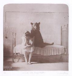 Gregori Maiofis.  bear. woman.