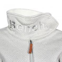 BENCH Character Strickjacke grau