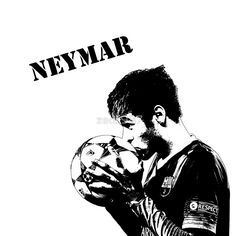 Neymar – Barcelona / Football Icons. Your Sporting icons designed and immortalized on tops, cases, posters and more. / INSTAGRAM!! Make sure you check us out on Instagram! / We are currently producing designs for: / * NFL Stars / * Soccer Stars / And many more updated daily!! • Buy this artwork on apparel, stickers, phone cases, and more.