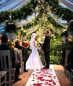 Conservatory Garden Wedding Venue St Louis MO Melissa Allison