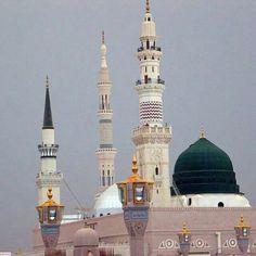 Islam Hadith, Islam Quran, Alhamdulillah, Al Masjid An Nabawi, Arabic Design, Beautiful Mosques, Islamic Wallpaper, Islamic Architecture, Madina