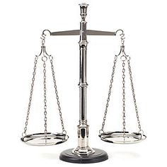 scales of justice. awesome...