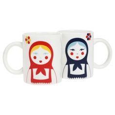 Babushka Mug Set Of 4