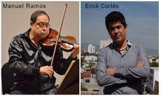 Manuel Ramos y Erik Cortés llevarán la música de violín y piano a la Secretaría…