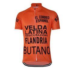 Retro Maertens 1977 Vuelta a España Cycling Jersey-Online Cycling Gear