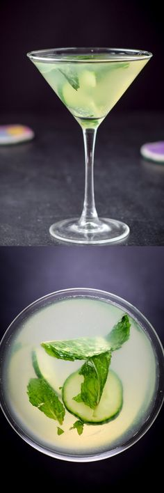 If you have any taste for cucumber, you simply MUST try this cocktail! Counterintuitive, I'll grant you, but it has so much flavor that hubby - who hates martinis - swears he could chug it. High praise, indeed! I wish I had one by my side as I type this... Check out the recipe so you can mix and enjoy one of your own! It's easy. http://ddel.co/cukemintmart