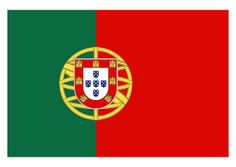 Flag bandeira Portugal Logo Vector