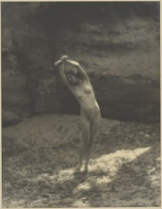 The Hamadryad; Arthur F. Kales (American, 1882 - 1936); about 1919; Gelatin silver print; 34.3 x 26.4 cm (13 1/2 x 10 3/8 in.); 86.XM.748.66; Gift of Michael Wilson