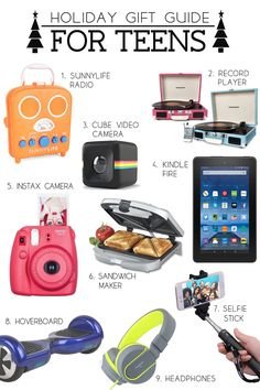 Hottest xmas gifts for teens
