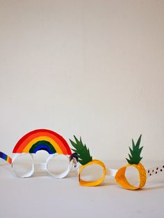 DIY Toilet Roll Glasses by Pink Stripey Socks