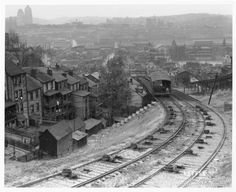 The Pittsburgh History Journal : Photo Knoxville incline