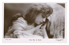 Postcard of actress May De Sousa. Posted in 1907.