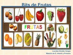 Bits de Inteligencia : Las Frutas by Lourdes Giraldo via slideshare
