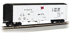 This Tropicana 50' Steel Reefer N scale reefer is now shipping in clear plastic boxes for display and storage convenience. It will look great in any N Scale collection.  Get yours today at http://www.livelocomotion.com/product/BAC70997 for $13.25.