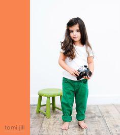 Modeling kids comp card
