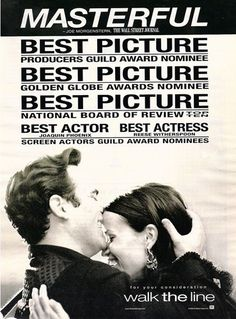 For Your Consideration- Walk the Line - Walk The Line Photo - Fanpop Best Actress, Best Actor, Walk The Line Movie, National Board Of Review, Posters Amazon, For Your Consideration, Line Photo, Information Poster, Original Movie Posters