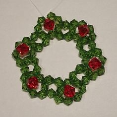 A FREEBIE FROM SOVA A VERY CUTE WREATH Christmas Tree Wreath at Sova-Enterprises.com This is a quick and easy pattern to make for the Christmas tree. Kids will love to make it. Can be fun for the whole family.