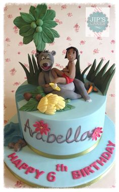 Jungle Book How novel Cakes Cupcake Cake pop Pinterest