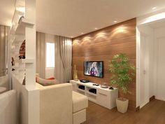 Ideas for decorating small livings - Decoration for Home Home Interior Design, House Design, Home Room Design, Home, Living Decor, Small Living Rooms, Apartment Design, Living Room Designs, Small Apartments
