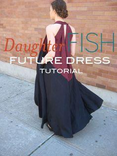 Daughter Fish Future Dress Tutorial