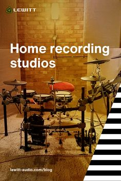Check out some of the coolest home studios from the LEWITT audio community and learn some tips on how to go about setting up your own! Recording Studio Home, Home Studio, Sound Technician, Barber Shop Quartet, Open My Eyes, Types Of Music, Asmr, Studios, Community