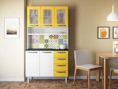 Kit Cozinha Colormaq Colors - 5 Portas 4 Gavetas