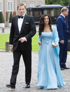 Khaled Edward Blair and Princess Badiya bint El Hassan of Jordan.