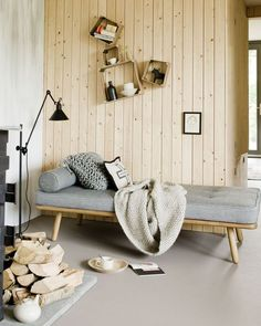 home decor - Interior Design Dreaming The Daybed Rustic Furniture, Bedroom Furniture, Furniture Design, Plywood Furniture, Chair Design, Interior Decorating Tips, Interior Design, Decorating Ideas, Home And Deco