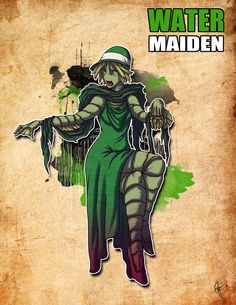Femme Fatale: Water Maiden