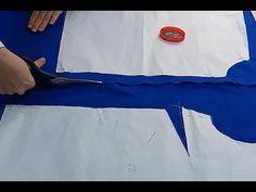 Kolay Bluz Nasıl Dikilir / Volanlı Bluz Kalıbı Kumaşa Nasıl Yerleştirilir? / How to sew a blouse? - YouTube
