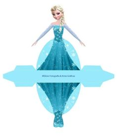 Disney FROZEN ( Elsa ) printable box