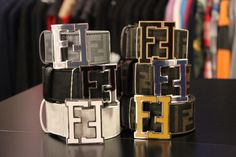 Fendi Belt Leather Belts, Men's Belts, Luxury Fashion, Mens Fashion, Fashion Trends, Urban Gear, Fendi Belt, Designer Belts, Grown Man