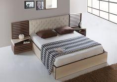 "2 - ""Zarif ve Modern"" Grace yatak odası Kargılı'da Bed, Modern, Furniture, Home Decor, Trendy Tree, Decoration Home, Stream Bed, Room Decor, Home Furnishings"