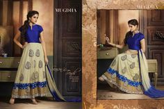 lush cream and cobalt anarkali salwar suit with patch work and lace border will give you gratifying appearance.  #addsharesale, #wholesale, #designerdress, #Partyweardress, #Dresses, #wholesaledress, #wholesalesupplier, #wholesaleseller, #bollywooddress, #anarkalidress, #wholesaleanarkali www.addsharesale.com