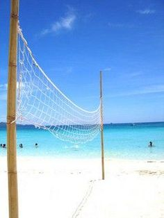 Beach Volley Ball.. My second passion is playing volley & having fun with my friends but,i miss this time..<3