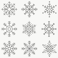 Christmas Doodles, Christmas Drawing, Felt Christmas, Christmas And New Year, Christmas Time, Xmas, Christmas Ornaments, Snow Flake Tattoo, Snow Tattoo