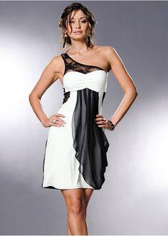 Sukienka na jedno ramię Uwodzicielska • 109.99 zł • bonprix