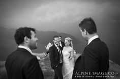 Documentary and candid moments. Love this shot! Photography by Alpine Image Company