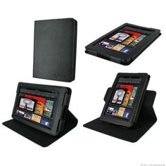 View images and photos in CNET's Best Kindle Fire cases and covers (photos) - The $25 RooCase is another one of those swiveling