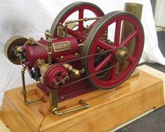 Hagan 1/2 Scale Model Hit and Miss Engine Finished Model