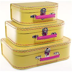 laffy taffy colored suitcase...idea for painting...