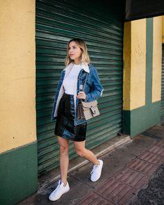 38 melhores imagens de Jaqueta jeans | Looks, Moda e Roupas