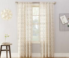 Weathervane Insulated Rod Pocket Quot Sheer Quot Solid Curtain