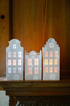 Dutch Canal House Luminaries | by all things paper