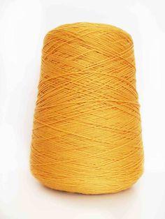 Merino Wool - Yellow - 4Ply Sport - 400g Warm Pixie DIY