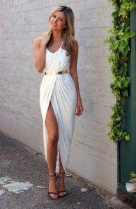 Vestido branco - império