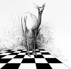 Ralph Steadman's work - ref do Tim Burton