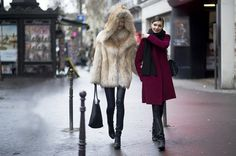25 Most Popular Winter Street Style Outfit Ideas for Women Fashion In, Winter Fashion, Fashion Outfits, Stylish Outfits, Street Fashion, Fashion Ideas, Street Style Trends, Street Style Women, Brown Faux Fur Coat
